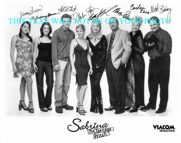SABRINA THE TEENAGE WITCH AUTOGRAPHED PHOTO, SABRINA THE TEENAGE WITCH MELISSA JOAN HART SIGNED
